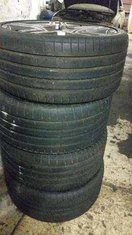 19 Inch Mercedes Rims and Tyres, 265/30R19. Bargain price. Johannesburg - image 4