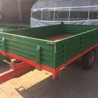 Brand new 5 ton tip trailers for sale