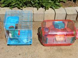 2 X Hamster Cages For Sale