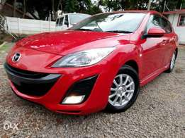 Mazda Axela Newshape, Red, Year 2010, (KCN), 1500cc, Automatic
