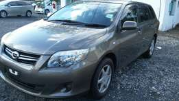 Toyota fielder 2010 brown color