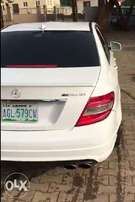 Neat and sharp 2011 Mercedes Benz C63 AMG. First body
