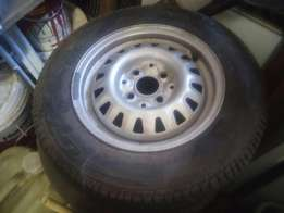 "13"" Rim and Tyre"