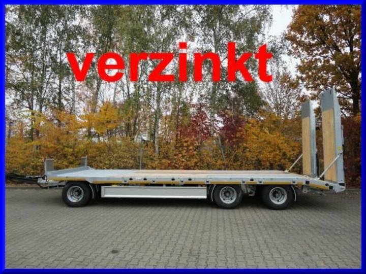 Möslein T 3-8,20 P VB H1 3 Achs Tieflader, Verbreiterung - 2019