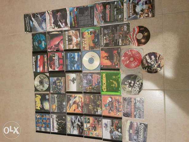 CD games for PC for sale. original and copy. with covers.