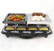 Electric stone griller