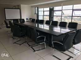 Executive and Comfortable Spaced Boardroom for 10 Seats