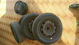 Golf 4 rims and tyres New