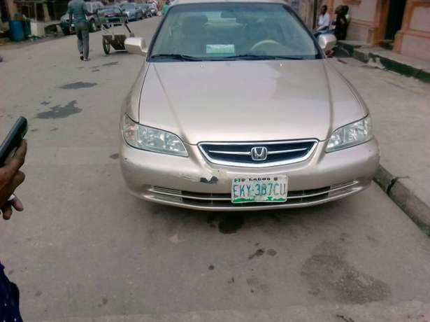 Registered Honda Accord, 2001 model. Yaba - image 1