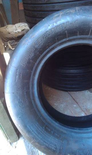 tyre for  agricultural machinery - 2014