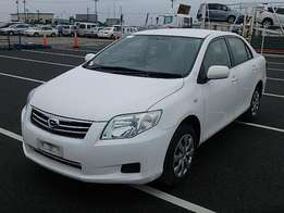 KCN 2010model Toyota Axio. 1500cc: Deposit Accepted for Hire purchase