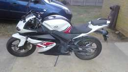 CSR RZ 125CC for sale.