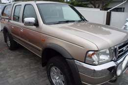 2004 Ford Ranger 4000 XLE 4x2 Automatic Double Cab,