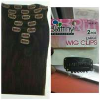 Wig clips for sale ladies at affordable prices.