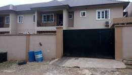 A tastefully 3bedroom flat inside a street closed omole ph2 extension