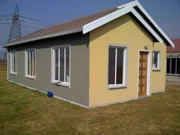new gap houses in protea glen soweto with a big stand nodeposit