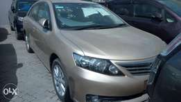 Toyota Allion. Gold Colour.