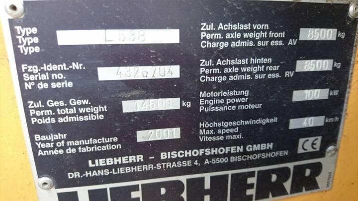 Liebherr L 538 - 2001 - image 8