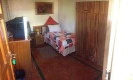 clean fully furnished room to let for single MALE with sober habits
