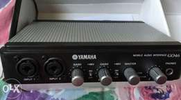 Yamaha G046 firewire audio interface / sound card for mac and pc