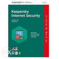 Kaspersky 4 Users Internet-Security Multi-devices 2017 (3 Devices + 1
