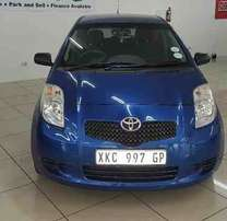 2008 Toyota Yaris T1 3Dr A-C,