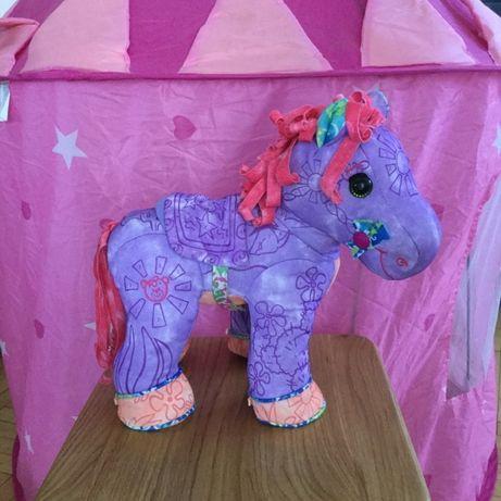пони лошадка My Little Pony раскраска по номерам развивающая