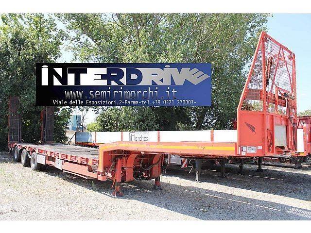 Langendorf carrellone trasporto vagoni con binari usato - 2004
