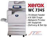 Xerox copier coloured