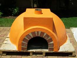 Authentic wood burning pizza oven's diy