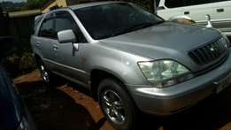 Harrier 2.4cc 2002model VVti engine