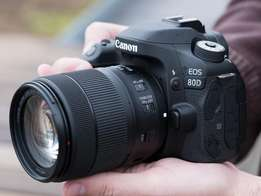 new brand camera canon 80d in cbd shop call now or visit us in cbd sho