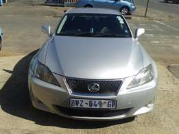 2006 Sliver Lexus 1.6 IS 250 for sale