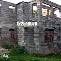Kahawa sukari, unfinished house for sale