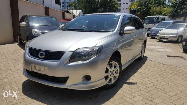 Toyota fielder aero tourer si edition loaded with sports spoiler SILVE Mombasa Island - image 4