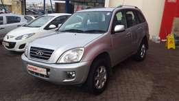 Chery Tiggo 1.6 TX ( 2012 ) Very Neat - Low Kilos - All the luxuries