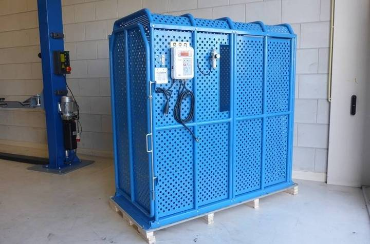 TyreOn Tic200 Inflation Cage - Diameter Up To 165 Cm - 2018