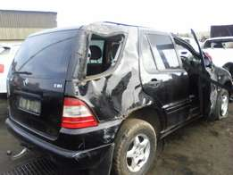 Just in! 2005 Mercedes-Benz ML270D - Already stripping for spares!