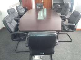 Executive Table & 8 Chairs suitable for your conference room-Hot Cake