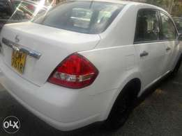 Nissan tiida very clean new tyres original paint cd player.