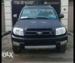 Tokunbo Toyota 4Runner 2004/05 With Leather Seats