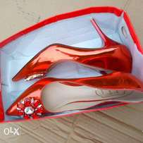 Women's Trendy Red Classic Shoe