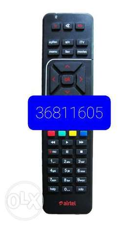 Airtel remote avalable