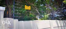 Installation of electric fence