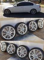 BMW 18 inch Msport E90 with good tyres