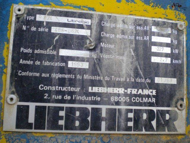 Liebherr LITRONIC 974 - 1993 - image 5