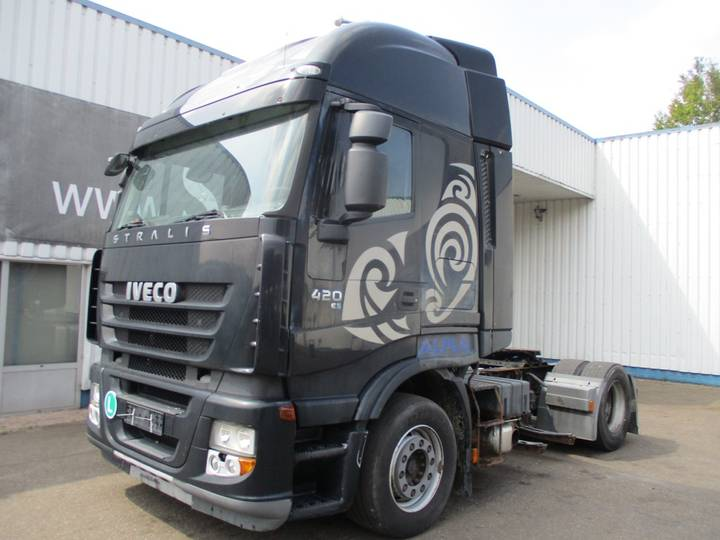 Iveco Stralis 420 , E 5 , Automaat , Airco , Intarder - 2007