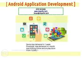 Android Application Development from 15 K
