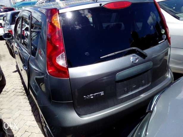 Nissan note grey color Fully loaded unit new plate number fresh import Mombasa Island - image 3
