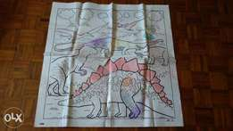 Wipe off colouring mats